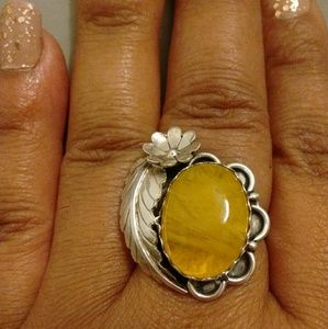 Gorgeous Sterling Vintage Native Ring